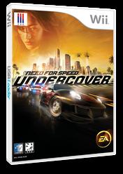 니드포스피드 언더커버 Wii cover (RX9K69)