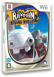 래이맨 엽기토끼 2 Wii cover (RY2K41)