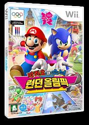 마리오와 소닉 런던 올림픽 Wii cover (SIIK01)