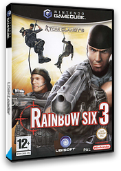 Tom Clancy's Rainbow Six 3 GameCube cover (G63P41)