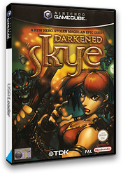 Darkened Skye GameCube cover (GDQP6S)