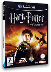 Harry Potter en de Vuurbeker GameCube cover (GH4H69)