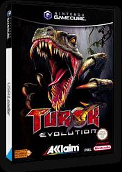 Turok Evolution GameCube cover (GTKP51)