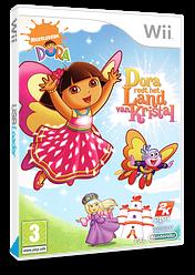 Dora redt het Land van Kristal Wii cover (R27X54)