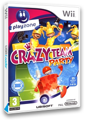 Crazy Crew Party Wii cover (R7ZP41)