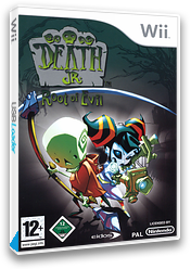 Death Jr.: Root of Evil Wii cover (RDJP4F)
