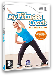 My Fitness Coach: Fit En Gezond Wii cover (RFKP41)
