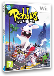 Rabbids Go Home Wii cover (RGWX41)