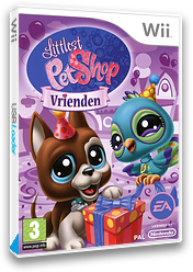 Littlest Pet Shop: Vrienden Wii cover (RL7P69)