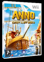 ANNO: Creëer een Nieuwe Wereld Wii cover (RN4P41)