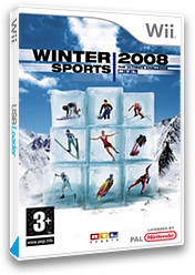 Winter Sports 2008: The Ultimate Challenge Wii cover (RUCXRT)