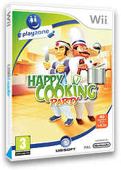 Crazy Cooking Party Wii cover (RZLP41)