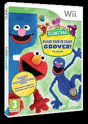 Sesamstraat: Klaar Voor De Start, Grover! Wii cover (SESPWR)