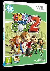 Crazy Mini Golf 2 Wii cover (SG2XUG)