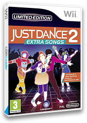 Just Dance 2: Extra Songs Wii cover (SJ9P41)