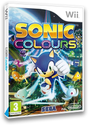 Sonic Colours Wii cover (SNCP8P)