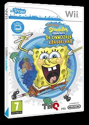 SpongeBob Squarepants: De Onnozele Krabbelaar Wii cover (SS8P78)