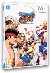 Tatsunoko vs. Capcom: Ultimate All-Stars Wii cover (STKP08)