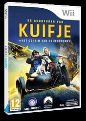De avonturen van Kuifje:Het geheim van de eenhoorn Wii cover (STNP41)