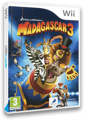 Madagascar 3: Europe's Most Wanted Wii cover (SV3PAF)