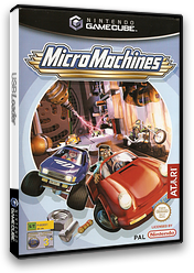 Micro Machines GameCube cover (GMOP70)