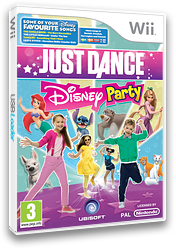Just Dance Disney Party Wii cover (SJ6P41)