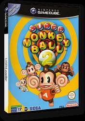 Super Monkey Ball 2 GameCube cover (GM2P8P)