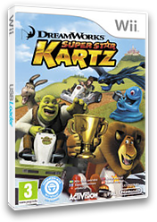 DreamWorks Super Star Kartz Wii cover (SKZP52)