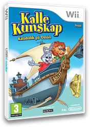 Kalle Kunskap: Tvåan - Kalabalik på Ostön Wii cover (SRWXNL)