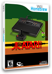Wii2600 Homebrew cover (D26A)