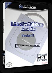 Interactive Multi-Game Demo Disc - Version 31 GameCube cover (D62E01)