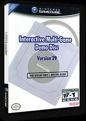 Interactive Multi-Game Demo Disc - Version 29 GameCube cover (D64E01)