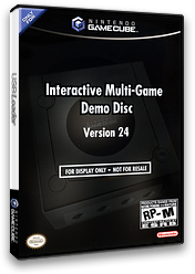 Interactive Multi-Game Demo Disc - Version 24 GameCube cover (D69E01)