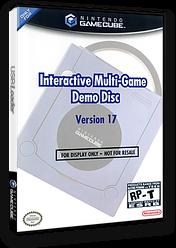 Interactive Multi-Game Demo Disc - Version 17 GameCube cover (D78E01)