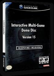 Interactive Multi-Game Demo Disc - Version 15 GameCube cover (D82E01)