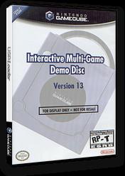 Interactive Multi-Game Demo Disc - Version 13 GameCube cover (D84E01)