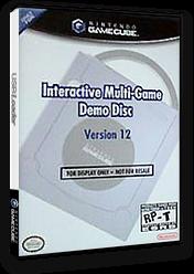 Interactive Multi-Game Demo Disc - Version 12 GameCube cover (D85E01)