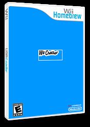 Wiichatter Homebrew cover (DCHA)