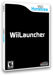 WiiLauncher Homebrew cover (DLUA)