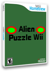 Alien Puzzle Wii Homebrew cover (DP9A)