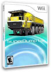 Superdump Homebrew cover (DSDA)