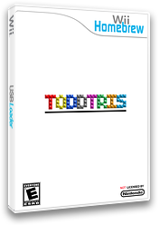 Toddtris Homebrew cover (DTTA)