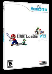 Waninkoko's USB Loader Homebrew cover (DUWA)
