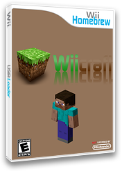 Wiicraft Homebrew cover (DW6A)
