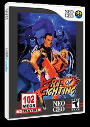 Art of Fighting VC-NEOGEO cover (EADE)