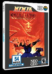 Ninja Commando VC-NEOGEO cover (EAPE)