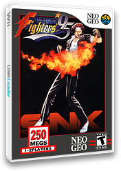 The King of Fighters '95 VC-NEOGEO cover (EAVE)