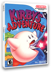 Kirby's Adventure VC-NES cover (FA8E)