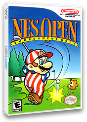NES Open Tournament Golf VC-NES cover (FAPE)