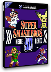 Super Smash Bros. Melee: SD Remix GameCube cover (G01E01)